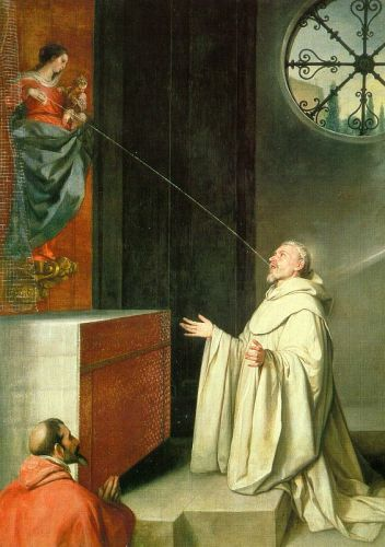 The Vision of St Bernard by Alonso Cano