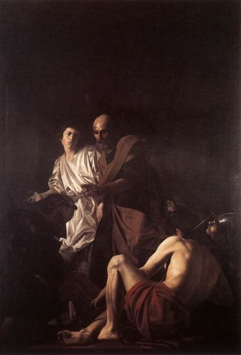 Liberation of St Peter by Giovanni Battista Caracciolo