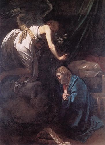 The Annunciation by Michelangelo Merisi da Caravaggio