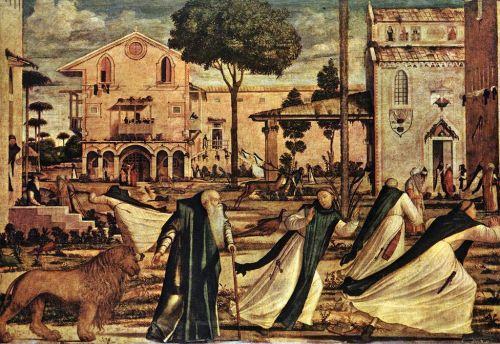 St Jerome and the Lion by Vittore Carpaccio