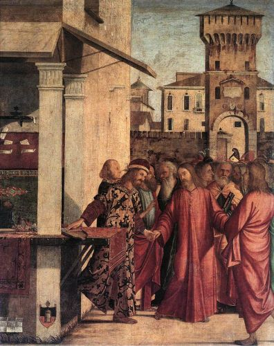 The Calling of Matthew by Vittore Carpaccio