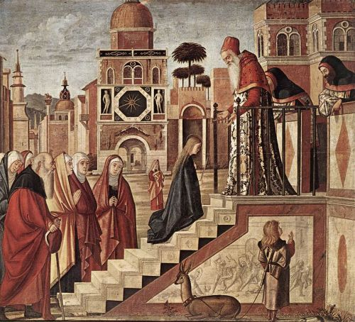 The Presentation of the Virgin by Vittore Carpaccio