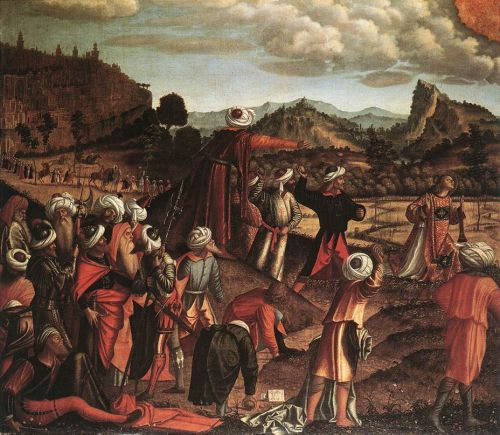 The Stoning of St Stephen by Vittore Carpaccio