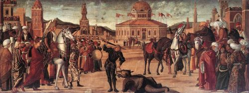 The Triumph of St George by Vittore Carpaccio