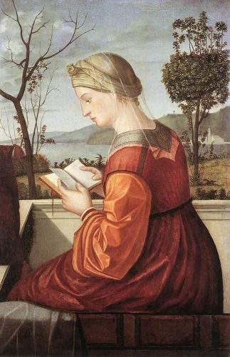 The Virgin Reading by Vittore Carpaccio