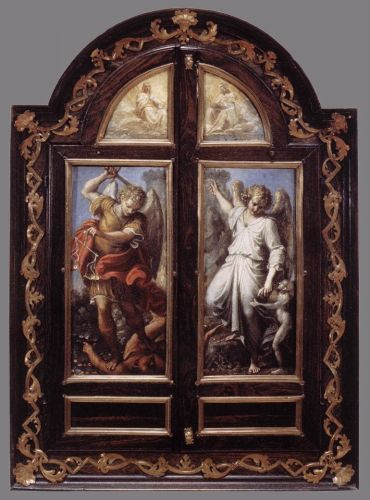 Triptych by Annibale Carracci