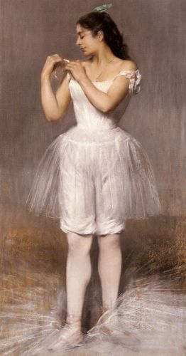 The Ballerina by Pierre Carrier-Belleuse