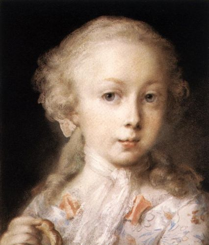 Young Lady of the Leblond Family by Rosalba Carriera