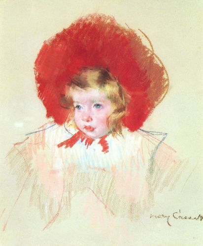Child with a Red Hat by Mary Cassatt