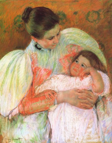 Nurse and Child by Mary Cassatt