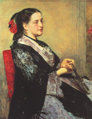 Portrait of a Lady of Seville by Mary Cassatt