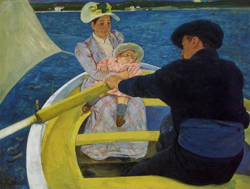 The Boating Party by Mary Cassatt