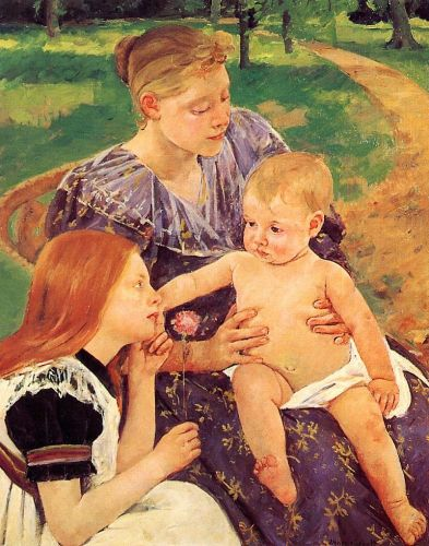 The Family by Mary Cassatt