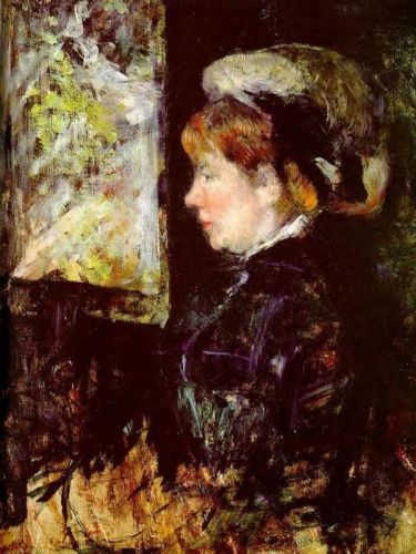 The Visitor by Mary Cassatt