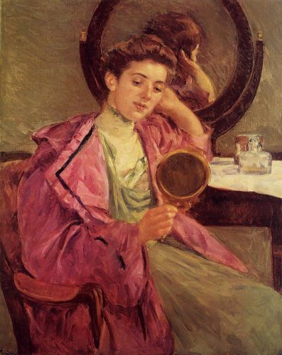 Woman at Her Toilette by Mary Cassatt