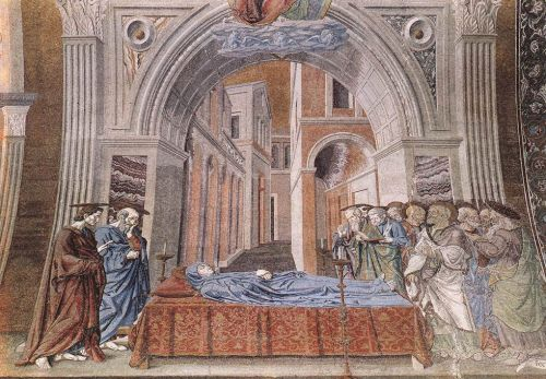 Death of the Virgin by Andrea del Castagno