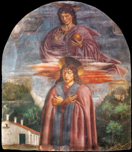 St Julian and the Redeemer by Andrea del Castagno