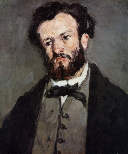 Anthony Valabregue, 1871 by Paul Cézanne