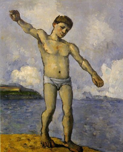 Bather with Outstreched Arms, 1877-1878 by Paul Cézanne