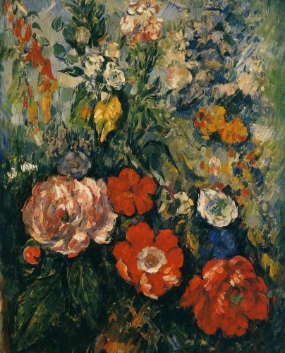 Bouquet of Flowers, 1879-1880 by Paul Cézanne