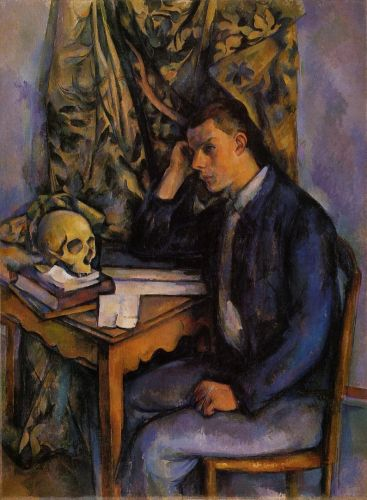 Boy with Skull, 1896-1898 by Paul Cézanne