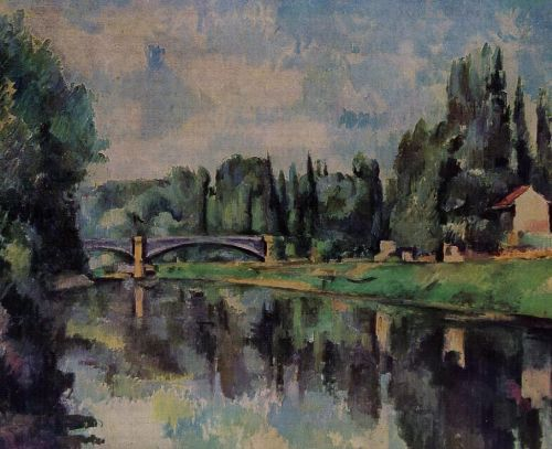 Bridge over the Marne, 1888 by Paul Cézanne