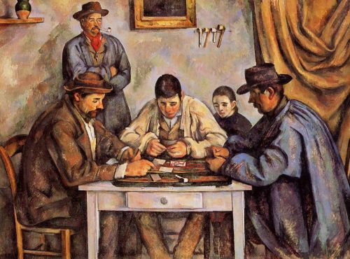 The Card Players (Les joueurs de cartes), 1890-1892 by Paul Cézanne