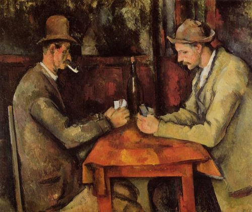 The Card Players, 1890-1892 by Paul Cézanne