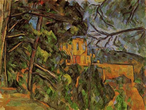 Chateau Noir, 1900-1904 by Paul Cézanne