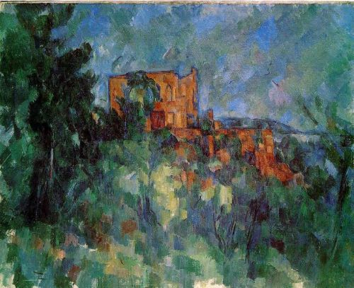Chateau Noir, 1904-1906 by Paul Cézanne