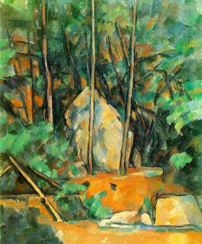 Cistern in the Park at Chateau Noir, 1900 by Paul Cézanne