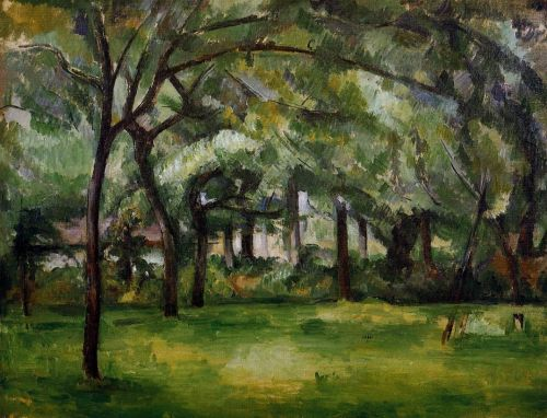 Farm in Normandy, Summer (Hattenville), 1882 by Paul Cézanne