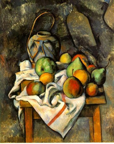 Ginger Jar and Fruit, 1895 by Paul Cézanne