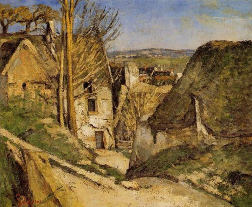 The Hanged Man's House, Auvers-sur-Oise (La maison du pendu, Auvers-sur-Oise), 1873 by Paul Cézanne