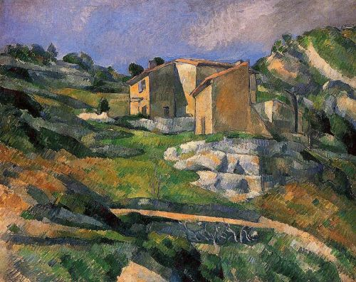 Houses in Provence: The Riaux Valley near L'Estaque, 1883 by Paul Cézanne