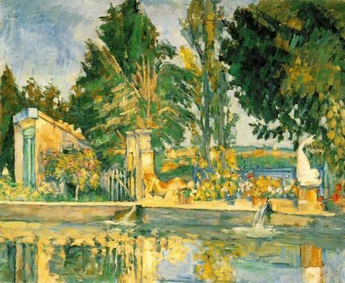 Jas de Bouffan, the Pool, 1876 by Paul Cézanne