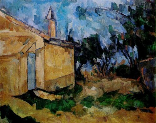Jourdan's Cottage, 1906 by Paul Cézanne