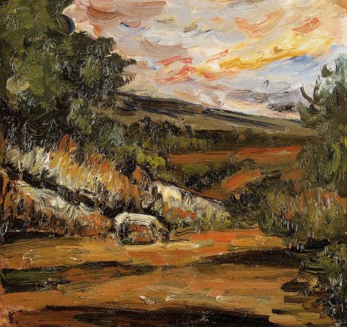 Landscape, 1865-1868 by Paul Cézanne