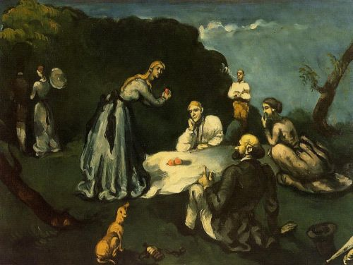 Luncheon on the Grass, 1870-1871 by Paul Cézanne