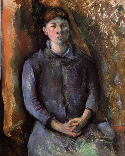 Madame Cezanne, 1892 by Paul Cézanne