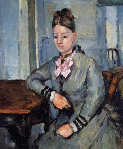 Madame Cezanne Leaning on Her Elbow, 1873-1874 by Paul Cézanne