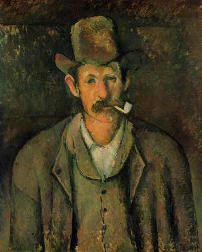 Man with a Pipe, 1893 by Paul Cézanne