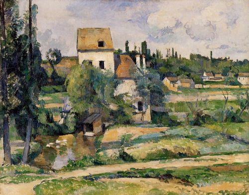 Mill on the Couleuvre at Pontoise, 1881 by Paul Cézanne