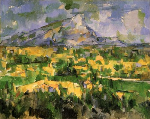 Mont Sainte-Victoire, 1902-1904 by Paul Cézanne