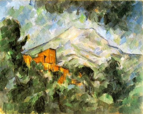 Mont Sainte-Victoire and Chateau Noir, 1904-1906 by Paul Cézanne