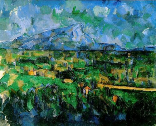 Mont Sainte-Victoire Seen from les Lauves, 1902-1906 by Paul Cézanne