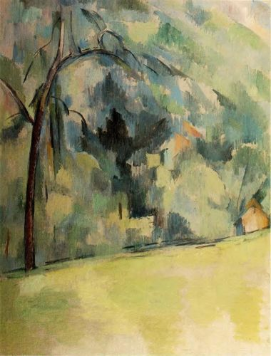 Morning in Provence, 1900-1906 by Paul Cézanne