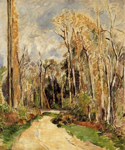 Path at the Entrance to the Forest, 1879 by Paul Cézanne