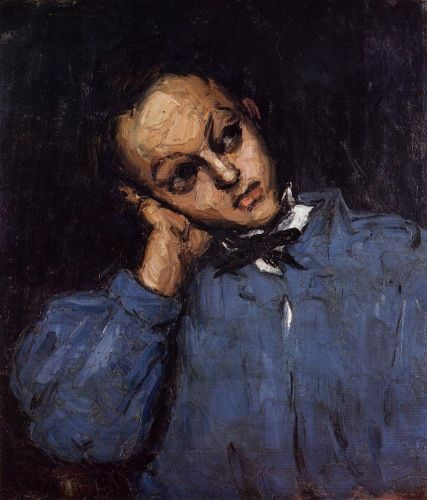 Portrait of a Young Man, 1866 by Paul Cézanne