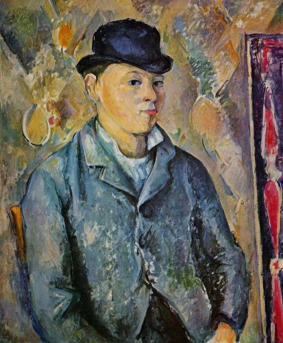 Portrait of Paul Cezanne, the Artist's Son, 1885-1890 by Paul Cézanne